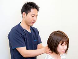 頚椎の調整